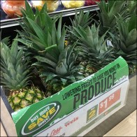 Fresh Pineapple Produce Promo Island