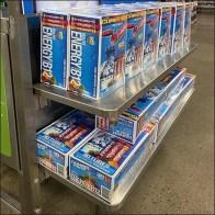 ZipFizz Cantilever Shelf Merchandising