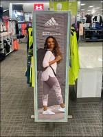 Adidas Zoe-Saldana Apparel Billboard