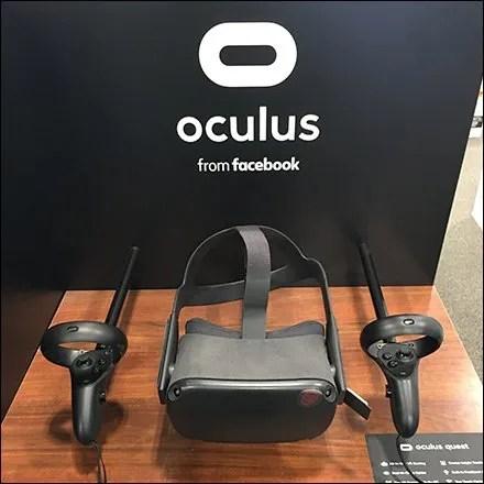 Oculus Virtual Reality Endcap Display