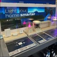 Phillips Hue Smart-Lighting DisplayPhillips Hue Smart-Lighting Display