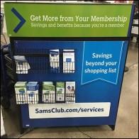 Savings-Beyond-Your-Shopping-List Literature Rack