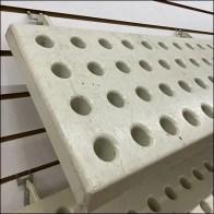 Declined Slatwall Bud Vase Board