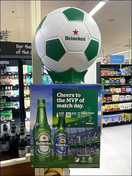 Heineken Soccer Match-Day MVP