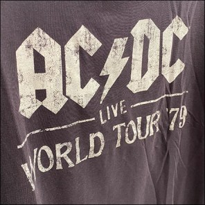 H&M AC/DC Drop-Arm T-Shirt Faceout