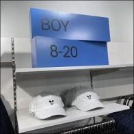 H+M Boy's Sizes Dimensional Sign