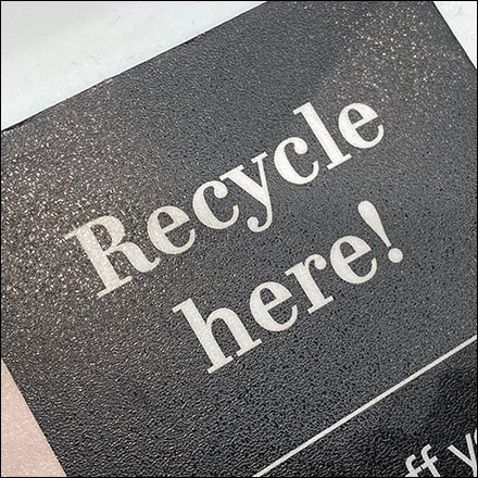 H&M Recycle-Clothing-Here Checkout Invitation