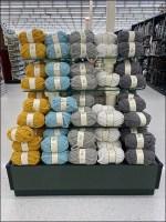Huge Yarn Pile Island Display