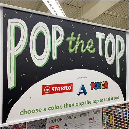 Stabilo Pop-The-Top Pen Test Challenge