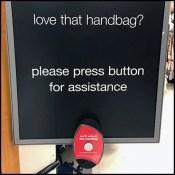 TJMaxx Love-The-Handbag Call Button