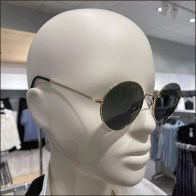 Macy's Double-Breasted Sunglass Mannequin
