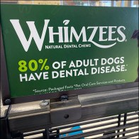 Whimzees Dental Treats Slatwire Display