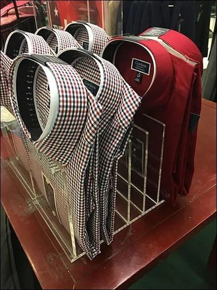 Upright Acrylic Dress-Shirt HolderUpright Acrylic Dress-Shirt Holder