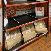 Meals2Go Carryout Self-Service Pickup Rack
