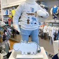 Little-Baby-Basics Happy Hippopotamus Prop