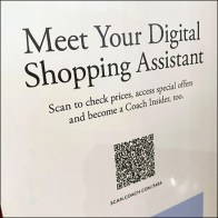 Coach Introducing Coach Shopping Digital Assistant Mirror Decal Aux