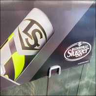 Louisville-Slugger Baseball-Bat Inline Display
