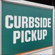 Field-&-Stream Curbside-Pickup Parking Designation Sign