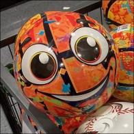 Happy Sports-Playball Tubular-Frame Bulk-Bin