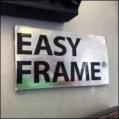 Magnetic Frame Random Sample Display