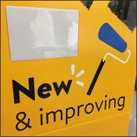 New Improved Electronic Department Sign