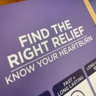 Inline Find-Relief Heartburn Display