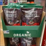 Hershey's Organic Dark-Chocolate Tower DisplayHershey's Organic Dark-Chocolate Tower Display