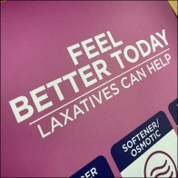 Inline Feel-Better Laxatives Display