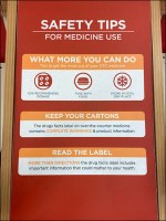 Inline Safety-Tips Medicine DisplayInline Safety-Tips Medicine Display