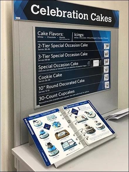 7-Ring Decorated Cake Catalog Binder