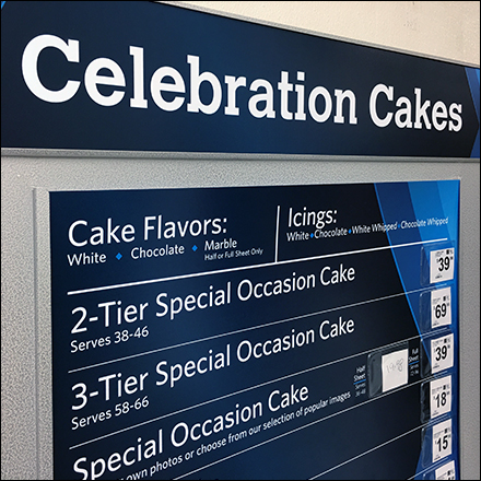 Self-Service Decorated Cake Order Station
