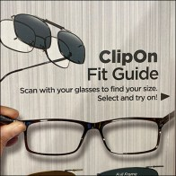 Optify Clip-On Sunglass Guide
