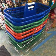 Gourmet Grocery Center-Handle Shopping Carry