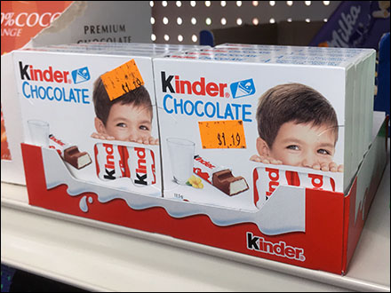Solomia Ethnic Kinder Chocolate MerchandisingSolomia Ethnic Kinder Chocolate Merchandising