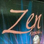 Zen Risqué Cooler Door Decal BrandingZen Risqué Cooler Door Decal Branding