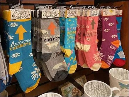 Seasonal Slatwall Primitives-Socks Display Hooks