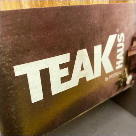 Teak Haus Cutting Board DisplayerTeak Haus Cutting Board Displayer