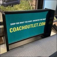 Coach Countertop Cross-Sell Online Promo