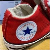 Converse Baby Sneaker Shelf-Edge Ledges