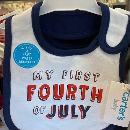H&M Fourth-of-July Apparel Island Display