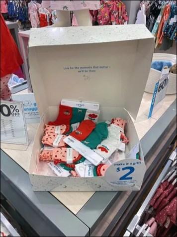 H&M $2 Gift Box Upgrade Offer