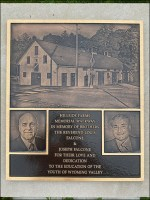 Hillside-Farms Walkway Memorial Plaque
