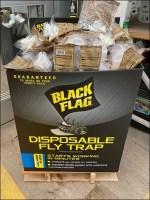 Black-Flag Fly-Trap Bulk-Bin Merchandising