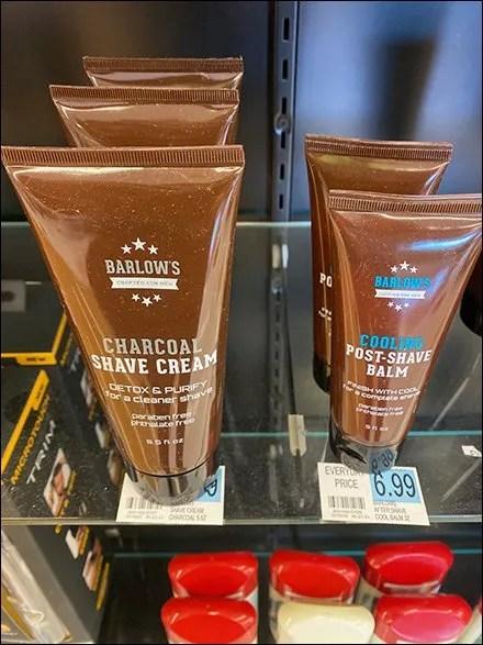 Shaving-Supplies Glass-Shelf Pricing Scheme