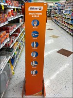Voltaren Topical-Pain-Relief Corrugated Tower
