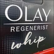 Olay Regenerist Whip Try-Now Pallet-Rack Tester