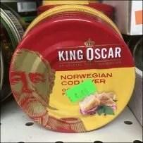 Bottom-Branded Norwegian Cod Liver