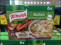 Knorr Ethnic-Polish Bouillon Merchandising