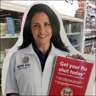 Talk-To-Your-Pharmacist Full-size Standup Sign