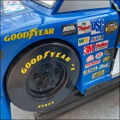 Coin-Operated Kiddie NASCAR Ride